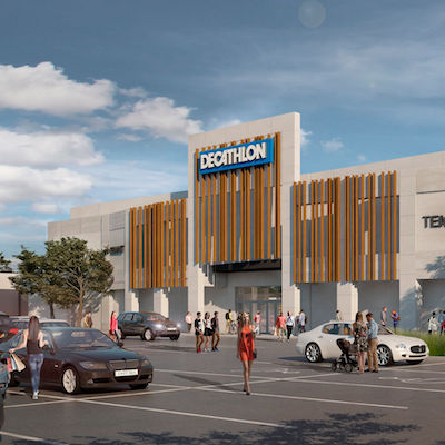 IMAGE: French sporting goods company Décathlon will open its second Ontario store in the Mapleview mall in Burlington. (Courtesy Mapleview shopping centre)