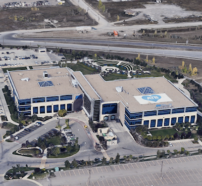IMAGE: The 315,400-square-foot ATB Westwinds office campus in Calgary was recently acquired by True North Commercial REIT. (Google Street View)