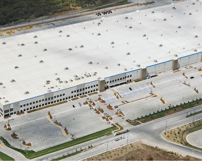 IMAGE: 1301 Chalk Hill Road in Dallas is a 2.3 million square foot distribution centre purchased by Granite REIT. (Courtesy Granite REIT)