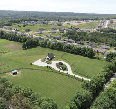 IMAGE: The site of the Braestone community being constructed by Georgian International Land Corp. outside Barrie in Simcoe County, north of Toronto. (Courtesy GILC)