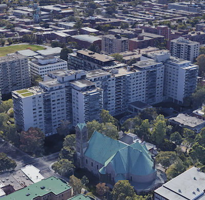 IMAGE: Continuing strength in the Montreal multiresidential sector is being driven, in part, by booming tech and international student sectors. Showh, Minto Apartment REIT's Le 4300 complex, which the REIT purchased in 2019.
