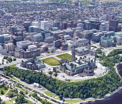 IMAGE: The federal government's GCworkplace office modernization initiative is creating opportunities for building owners and managers in Ottawa and Gatineau. (Google Street View)