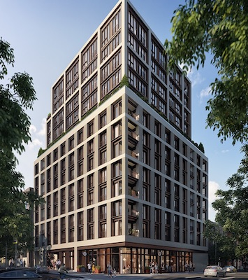 IMAGE: 123 Portland is one of two condo projects for which Minto Communities is about to launch sales in downtown Toronto. (Courtesy Minto)