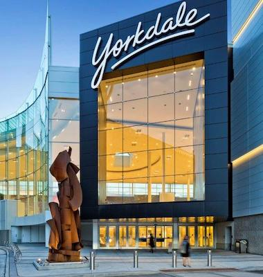 IMAGE: Yorkdale Shopping Centre in Toronto is a national BOMA TOBY Award winner. (Courtesy Oxford Properties)