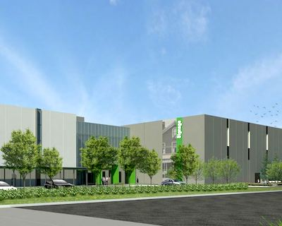IMAGE: Beedie construction is building this 530,000-square-foot distribution and cold-storage facility for Sobeys in South Surrey. (Rendering courtesy JLL)