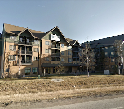 IMAGE: Clearwater Suites is one of Temple Hotel's properties in Fort McMurray, Alta. (Google Street View)