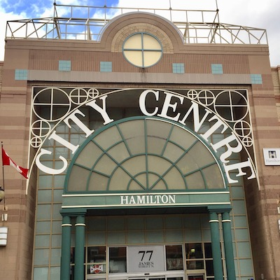 IMAGE: IN8 Development is hoping to turn the Hamilton Centre Centre shopping mall property into a vibrant downtown mixed-use redevelopment. (Steve McLean RENX)