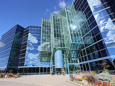 IMAGE: The Trillium Executive Centre in Markham, north of Toronto. (Courtesy Crown Realty Partners)