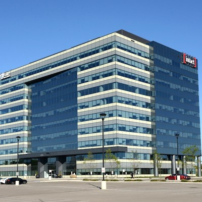 IMAGE: The First Meadowvale Centre Phase 2 office tower in Mississauga has been sold to True North Commercial REIT. (Courtesy First Gulf)