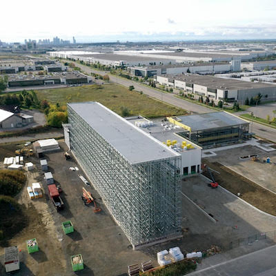 IMAGE: Greyson Construction is building this 14,000 square foot, fully automated logistics warehouse in Mississauga for Blum Canada. (Courtesy Greyson)