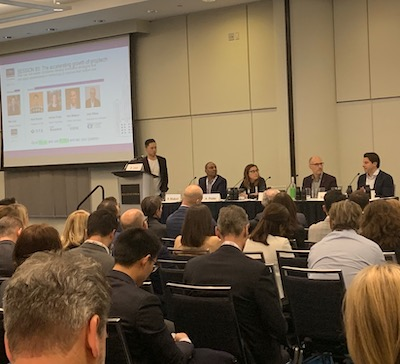 IMAGE: Tech-related panels at the Real Estate Forum in Toronto were popular – there was nary an empty seat to be had. (Ann White RENX)