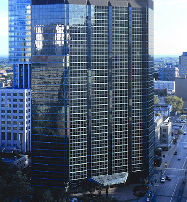 IMAGE: 1100 René-Lévesque West has been purchased by Groupe Petra and MACH. (Courtesy Groupe Petra)