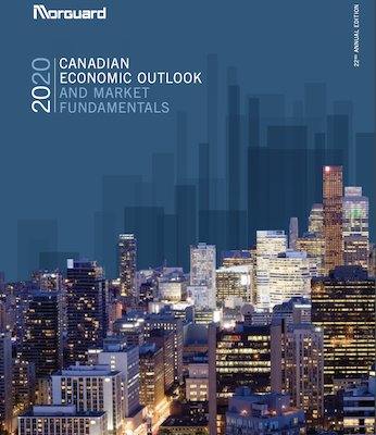 IMAGE: The Morguard 2020 Canadian Economic Outlook and Market Fundamentals Report.