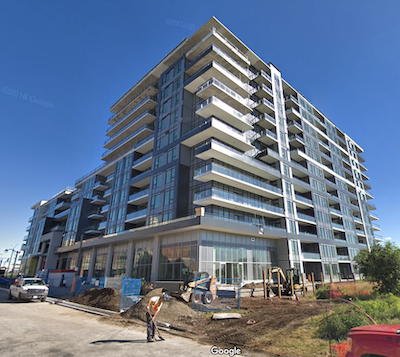 IMAGE: The Taunton Apartments in Oakville have been sold to Realstar Group by Branthaven Homes. (Google Street View)