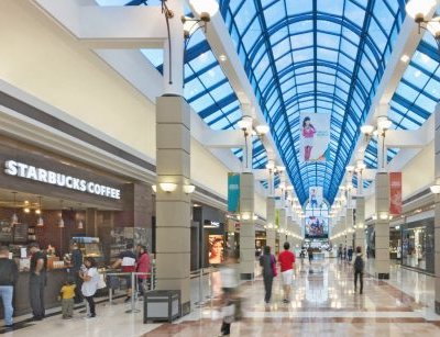 IMAGE: The CF Pacific Centre saw a 10 per cent increase in sales per square foot during 2019, according to the Retail Council of Canada's annual survey of shopping centres. (Courtesy CF)