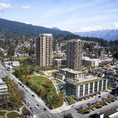 IMAGE: The Lonsdale Square redevelopment by Darwin Properties, in North Vancouver, is scheduled to kick off this summer. (Courtesy Darwin Properties)