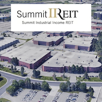 IMAGE: The Cochrane Business Park in Markham, just north of Toronto, is one of the most recent purchases by Summit Industrial REIT. (Aerial courtesy Google Maps)
