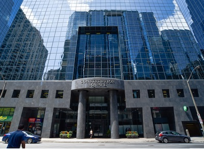 IMAGE: Constitution Square in Ottawa is receiving a multi-million-dollar refurbishment from its owners, TD Asset Management and Canderel.
