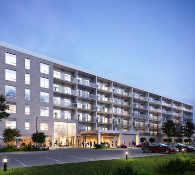 IMAGE: Shindico wants to add a multiresidential component to its Shops of Kildonan Mile development in Winnipeg. (Courtesy Shindico)