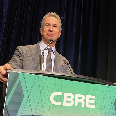IMAGE: CBRE vice-chairman Paul Morassutti. The company's Canada Market Outlook 2020 report predicts commercial real estate investment in Canada could top $50 billion in 2020. (Courtesy CBRE)