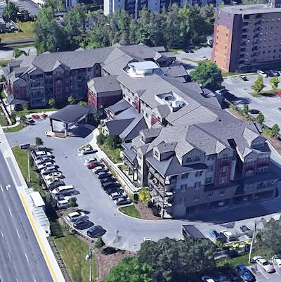IMAGE: The Heritage Meadows Gracious retirement residence in Cambridge, Ont. (Google Street View)