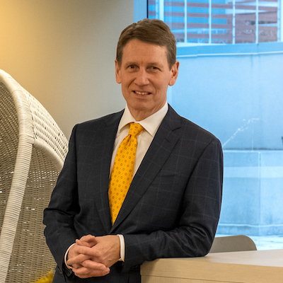 IMAGE: David Routledge, Oxford Property Group's vice president of real estate management west. (Courtesy Oxford Properties)