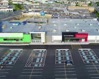 IMAGE: Winners and HomeSense are among the new retailers at the Avalon Mall in St. John's, N.L. (Courtesy Crombie REIT)