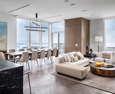 IMAGE: The innovation suite in Tridel's Ten York condominium tower is packed with the latest residential tech features and amenities. (Courtesy Tridel)