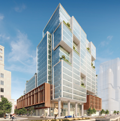 IMAGE: The proposed Portland Commons development in downtown Toronto. Carttera has acquired a majority interest in the development. (Courtesy Carttera)
