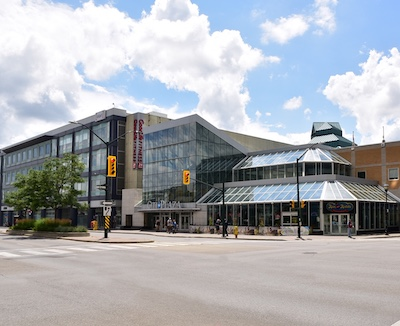 IMAGE: Citi Plaza in London, Ont., has undergone a major transformation in recent years, shedding much of its retail component and becoming a major downtown office complex. (Courtesy Avison Young)