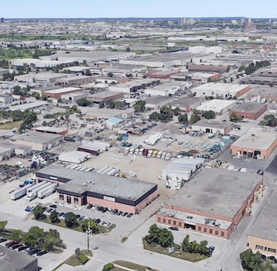 IMAGE: Canada's industrial sector had strong fundamentals prior to the pandemic, and should emerge from the crisis without too much damage, panelists agreed during a Canadian Real Estate Forums webinar April 24. (Google Street View)