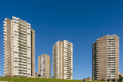 IMAGE: The Beach Towers apartment complex, in Vancouver. (Courtesy Goodman Commercial)