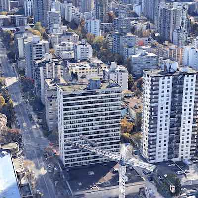 IMAGE: Early results to a survey by SVN Rock Advisors indicates 73 per cent of apartment residents were able to make their rents on April 1 and that number is expected to rise as more data flows in. (Google Street View)