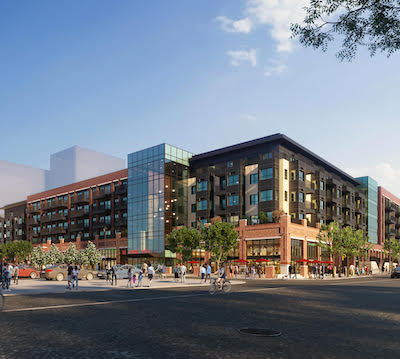 IMAGE: The mixed-use The Louvre will be the latest addition to Procura's Century Park in Edmonton. (Courtesy Procura)