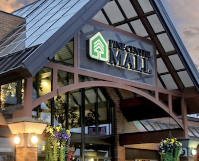 IMAGE: Renovations to Morguard REIT's Pine Centre Mall in Prince George, B.C., are continuing. (Courtesy Morguard REIT)