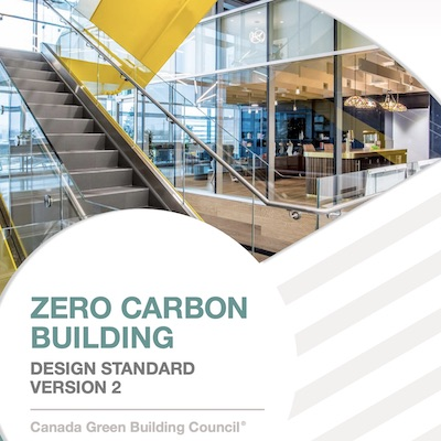 IMAGE: The Zero Carbon Building Standard v2 has been released by the Canada Green Building Council.