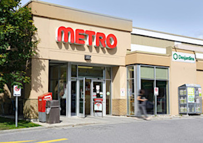 IMAGE: Fronsac REIT recently purchased this Metro store property in Gatineau, Que. (Courtesy Fronsac)