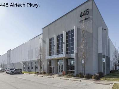 IMAGE: 445 Airtech Parkway in Indianapolis, IN. is one of eight U.S. industrial properties being acquired by Granite REIT. (Courtesy Granite)