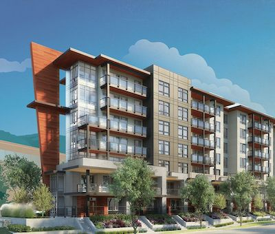IMAGE: Crest is a new multiresidential development in North Vancouver by Adera Develpment. (Courtesy Adera)