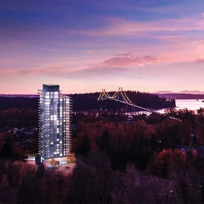 IMAGE: Sentinal is a new condo project by Denna Homes in West Vancouver. (Courtesy Denna Homes)