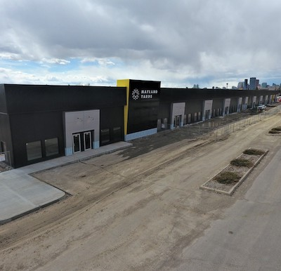 IMAGE: Mayland Yards is an industrial conversion project in Calgary by ICM Group. (Courtesy ICM Group)