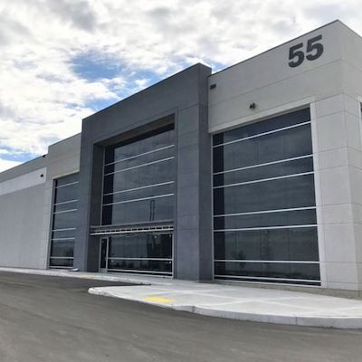 IMAGE: The new, fully leased 212,953-square-foot 55 Quarterman Road property in Guelph. It is scheduled for completion in Q3 of 2020. (Courtesy CBRE)