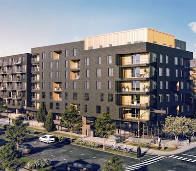 """IMAGE: The MU """"rental condos"""" are being built in Quebec City by Immostar. (Courtesy Immostar)"""