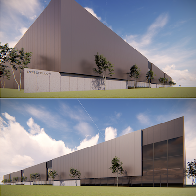 IMAGE: Montreal developer RoseFellow has acquired property for, and will develop, three distribution centres in Pointe-Claire in Montreal's West Island, Montréal-Est in the city's east end and Casselman, Ontario, near Ottawa. (Courtesy RoseFellow)