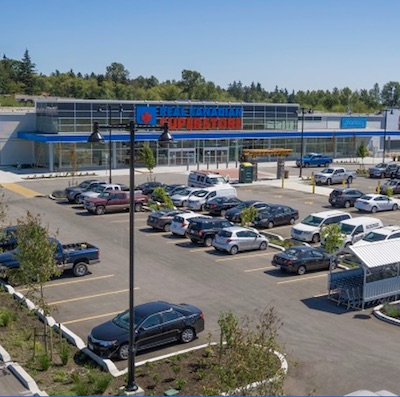 IMAGE: Grandview Central in Surrey is owned by Choice Properties REIT. (Courtesy Choice)