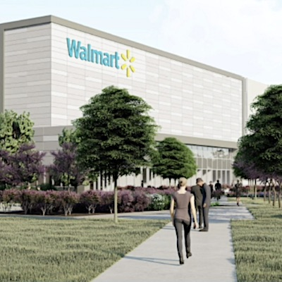IMAGE: WalMart plans a new 550,000-square-foot distribution centre in Vaughan, just north of Toronto. (Courtesy WalMart)