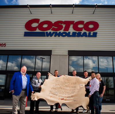 IMAGE: Costco, the first major anchor of the Taza development on the outskirts of Calgary, officially opened on Friday. (Courtesy Taza Development Corp.)