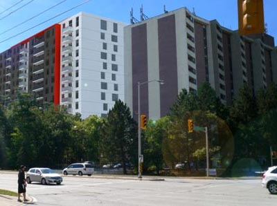 IMAGE: 1235 Marlborough Court in Oakville is Minto's newest LEED Gold-certified apartment building. (Courtesy MInto)