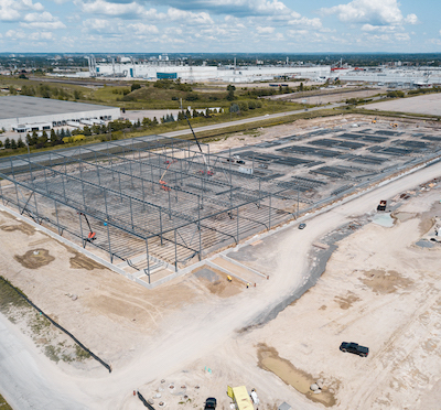 IMAGE: Panattoni Canada is building two major industrial buildings along Thornton Ave., in Oshawa just east of Toronto. (Courtesy Panattoni Canada)