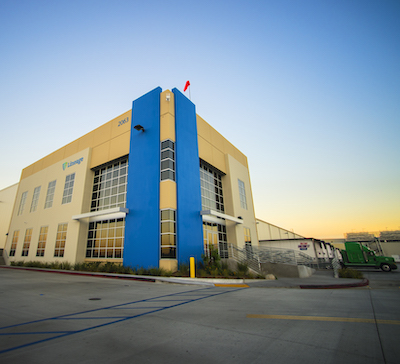 IMAGE: A Lineage Logistics cold storage facility in Colton, Calif. Toronto-based Oxford Properties Group has made a $474 million investment in Lineage. (Courtesy Oxford/Lineage)
